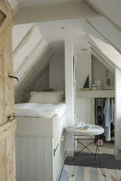 Leuk idee voor een kleine kamer