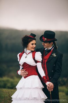 Elegant steampunk couple     (42) Tumblr