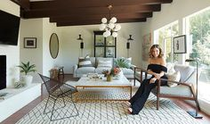 See how our in-house designers give the actress and activist her dream escape.