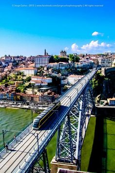 Ponte Luis I Porto, Portugal. Visit Portugal, Portugal Travel, Spain And Portugal, Best Places To Vacation, Vacation Trips, Porto City, Portugal Holidays, Portuguese Culture, Douro