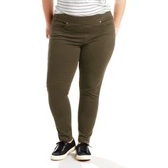 Plus Size Levi's Perfectly Shaping Pull-On Leggings, Women's, Size: 25 - regular, Green