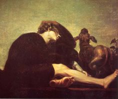 Solitudine all'alba, 1794-1796, olio su tela