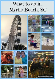What can you do in Myrtle Beach, SC? - Fun for the kids and tips for saving money!