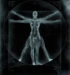 Da vinci vitruvian man reworked with cyberpunk theme - Digital Art by Benedict Campbell Da Vinci Vitruvian Man, Horror Themes, Arte Cyberpunk, Photo Black, Best Funny Pictures, Sci Fi, Digital Art, Graphic Design, Print Design