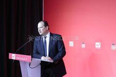 Paris : Réélection de Jean-Christophe Cambadélis à la tête du PS - Politique - via Citizenside France. Copyright : Christophe BONNET - Agence73Biss