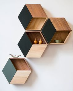 unique, modern, uber shelves