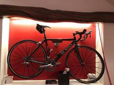 Oak and Steel Minimalist Bicycle Bike Wall   Etsy Bicycle Wall Hanger, Bicycle Wall Mount, Bike Rack, Bike Wall Storage, Storage Rack, Dark Hardwood, Oak Stain, Large Frames, Steel Wall