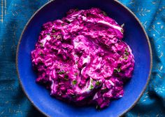 Beet Yogurt with Herbs   Ingredients      3 medium red or golden beets (about 1 pound), trimmed      Kosher salt      1 1/2 cups plain 2% fat Greek yogurt      2 tablespoons finely chopped fresh mint plus torn leaves for serving      1 teaspoon finely chopped fresh tarragon      2 teaspoons (or more) red wine vinegar