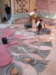 בית האומנויות - חיפוש ב- Arturo Núñez diseña y realiza un maravilloso piso de cemento pulido en el Centro de Artes del Neot Semadar kibutz Unique Flooring, Cool Walls, Ideas Para, Concrete, The Incredibles, Contemporary, Cool Stuff, Floors, Projects