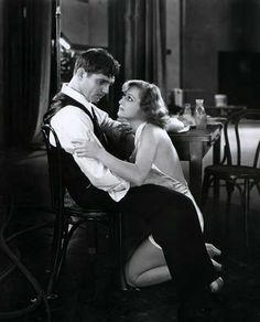 Clark Gable and Joan Crawford in Dancing Lady (Robert Z Leonard, 1933)