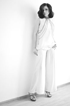 lookbook -  total white
