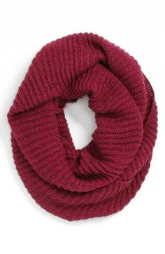 BP. Ribbed Infinity Scarf (I like the Camel color) available at #Nordstrom
