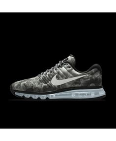 super popular cdef9 7df31 Nike Air Max 2017 Mens Id Grey Black Shoes Outlet Sale Uk, Cheap Nike Air