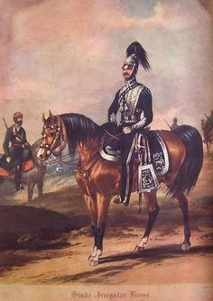 SCINDE IRREGULAR HORSE