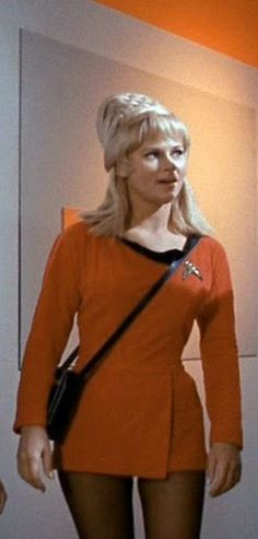 Grace Lee Whitney - Yeoman Janice Rand She was made famous by Star Trek; but, she had badly sad live on the set.