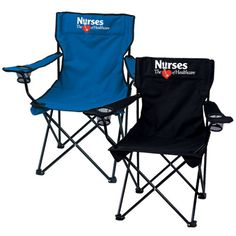 Nurses The Heart Of Healthcare Folding Chair With Carrying Bag