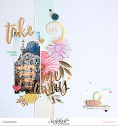 Layout *Take Me Away* - Pink Paislee / Paige Taylor Evans *Take Me Away* - von Ulrike Dold
