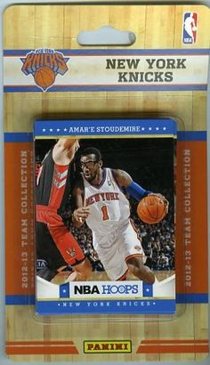 2012 2013 Panini Hoops NBA Basketball New York Knicks Brand New Factory  Sealed Complete TEAM f72ad2fd9