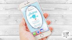 Invito per Battesimo digitale per invio messaggistica