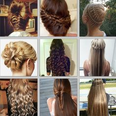 Different Hairstyles Four Different Hairstyles That Involve Braids To Try Out Cute