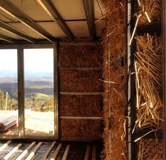 """Straw as sustainable building material. """"Most people don't realize that straw is the world's most abundant waste product with over 1 billion farmers producing it,"""" says Bakker. """"It's basically the stalk that's left over after the heads of rice, wheat, barley, and other grains are harvested."""""""