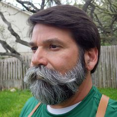 """Sunburned and pealing after tarpon fishing; I walk into a coffee shop and a young man taps me on the shoulder and says, """"Sir, you have the most amazing beard and moustache I have ever seen!"""" - Imgur"""
