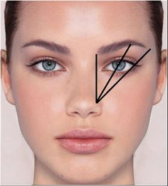 A professional eyebrow shape is vital to frame your face