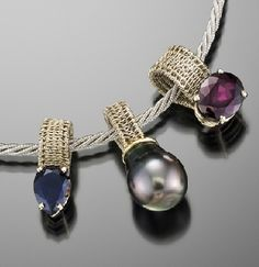 Unbelievable wire work on this piece.  Marie Scarpa   http://www.mariescarpadesigns.com/
