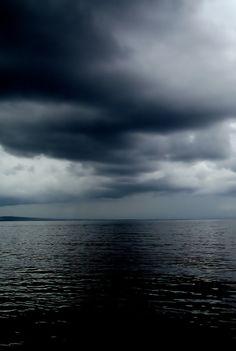 nuages de la mer