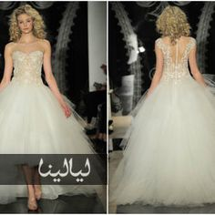 350f8b68de574 أفضل 10 فساتين زفاف لعام 2014 من أشهر المصممين