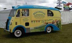 Morris PV ex Ambulance Ice Cream Van