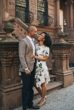 You're the apple of my eye - Photography: /// Couple Posing, Couple Shoot, Summer Photo Outfits, Engagement Couple, Engagement Photos, Engagement Session, Black Love Couples, Nyc Wedding Photographer, Nyc Photographers