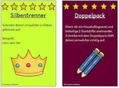 Grundschul-Ideenbox: Lernwörtertraining für die Grundschule u.a. mit FRESCH-Strategien Teil 2