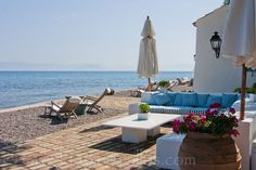 Waterfront Villa in Corfu