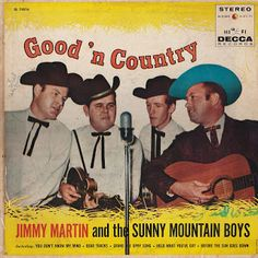 Good 'N Country - Jimmy Martin - 1960