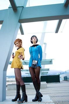 Star Trek TOS Group Cosplay
