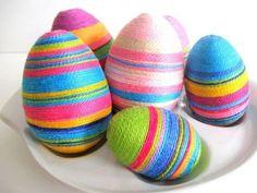 jak udekorować styropianowe jajka - Szukaj w Google