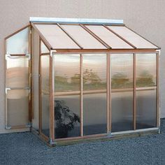 Sunshine Lean to Greenhouse Kit