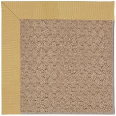 Capel Zoe Grassy Mountain Machine Tufted Wheatfield/Brown Area Rug Rug Size: 12' x 15'
