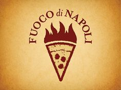 We keep going through our weekly journey checking out great logos! Last week we had a great post on logos with doors, and today it's all about logos with torches! Logo Pizzeria, Logo Restaurant, Restaurant Design, Creative Logo, Logo Branding, Branding Design, Brand Identity, Pizza Project, Pizza Life