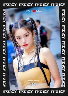 ITZY (있지) is JYP's new girl group. The members consist of Yeji, Lia, Ryujin, Chaeryeong and Yuna. J Pop, Kpop Girl Groups, Korean Girl Groups, Kpop Girls, Rapper, Programa Musical, Duffy, New Girl, K Idols