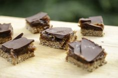 Karamelbidder caramel slices glutenfri sukkerfri vegansk christinebonde blog