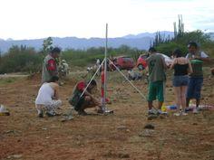 Astroblaa en el Star Party 2012 desde el Desierto de la Tatacoa-cohetes de agua C3