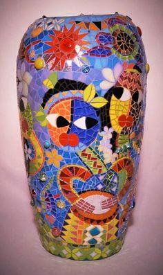 Christopher Diaz Mosaic pot