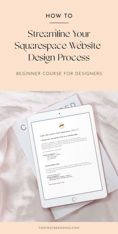 Learn how to become a #squarespace #websitedesigner and our streamlined step-by-step #website design process with this self-guided #course for #designers Beautiful Website Design, Website Design Inspiration, Website Layout, Design Process, Design Elements, Elements Of Design, Web Layout, Website Designs