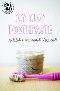 One of the first things I made when I started going natural was toothpaste. I knew baking soda was a natural whitener so when I found a highly recommended baking soda-based toothpaste I was all over it. It was awful!! Over the next year my otherwise extremely healthy gums became sensitive and eventually started bleeding. Then, I found clay...