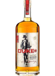 "Duke Small Batch Kentucky Straight Bourbon #Whiskey.  Aged for up to ten years, this #bourbon is crafted in homage to John Wayne, who was affectionately referred to as ""Duke."" 