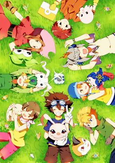 Digimon Adventure || The original DigiDestined with their #digimon. Review for the Digimon Tri movie: http://www.animedecoy.com/2016/01/digimonTri1.html~