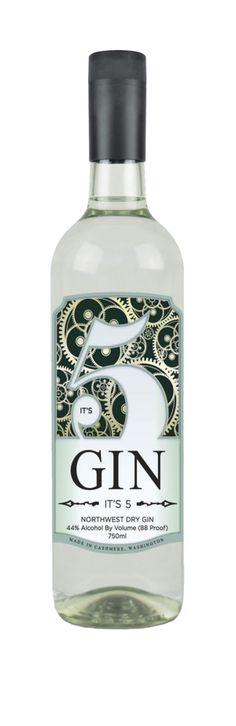 It's 5, Northwest Dry Gin, Washington PD