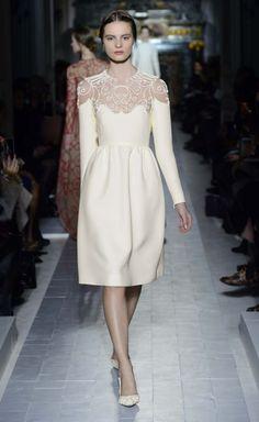 Vestido de la nueva colección de Valentino. Foto: Valentino.